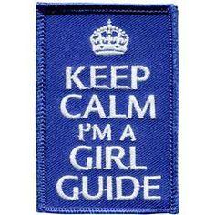 Keep Calm Guides Badge